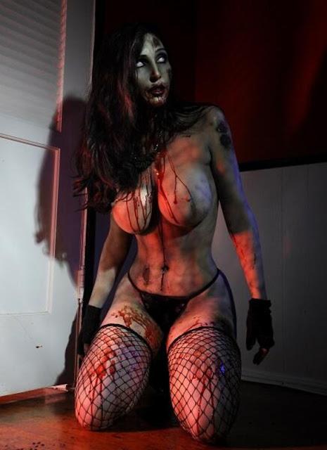 sexy girls big boobs horror photos