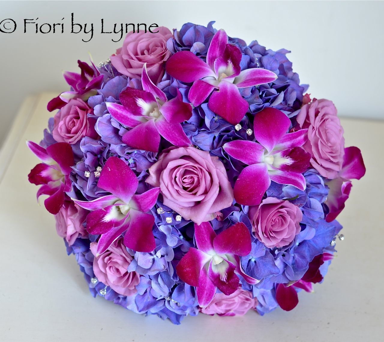 Purple And Pink Wedding Flowers: Wedding Flowers Blog: Kerrie's Wedding Flowers, Rhinefield