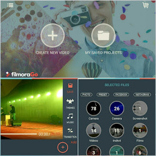 This is by far the best editor on the list, it is packed with additional features. The only thing to note is that while watermarking free, the editor does add an outro stating the video was made with FilmoraGo. You can choose a theme, add music, transitions and change the ratio. Under editing tools, there are options to trim the clip, add subtitles, picture in picture, voiceover, audio mixer, filters that can be adjusted in strength or applied to all clips in bulk, overlays that sadly can't be adjusted in strength. You can add elements such as leaves, add animated titles, change the speed of the clip, rotate, adjust exposure, duplicate and delete overall it is by far the best editor on the list with the most options.