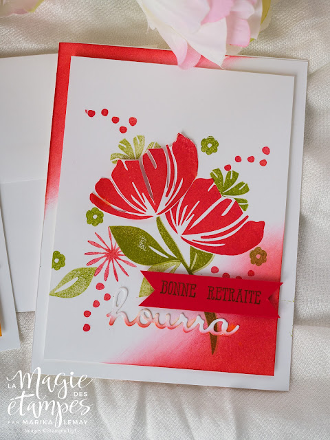 Cartes Stampin' Up! confectionnée avec Bloom by Bloom