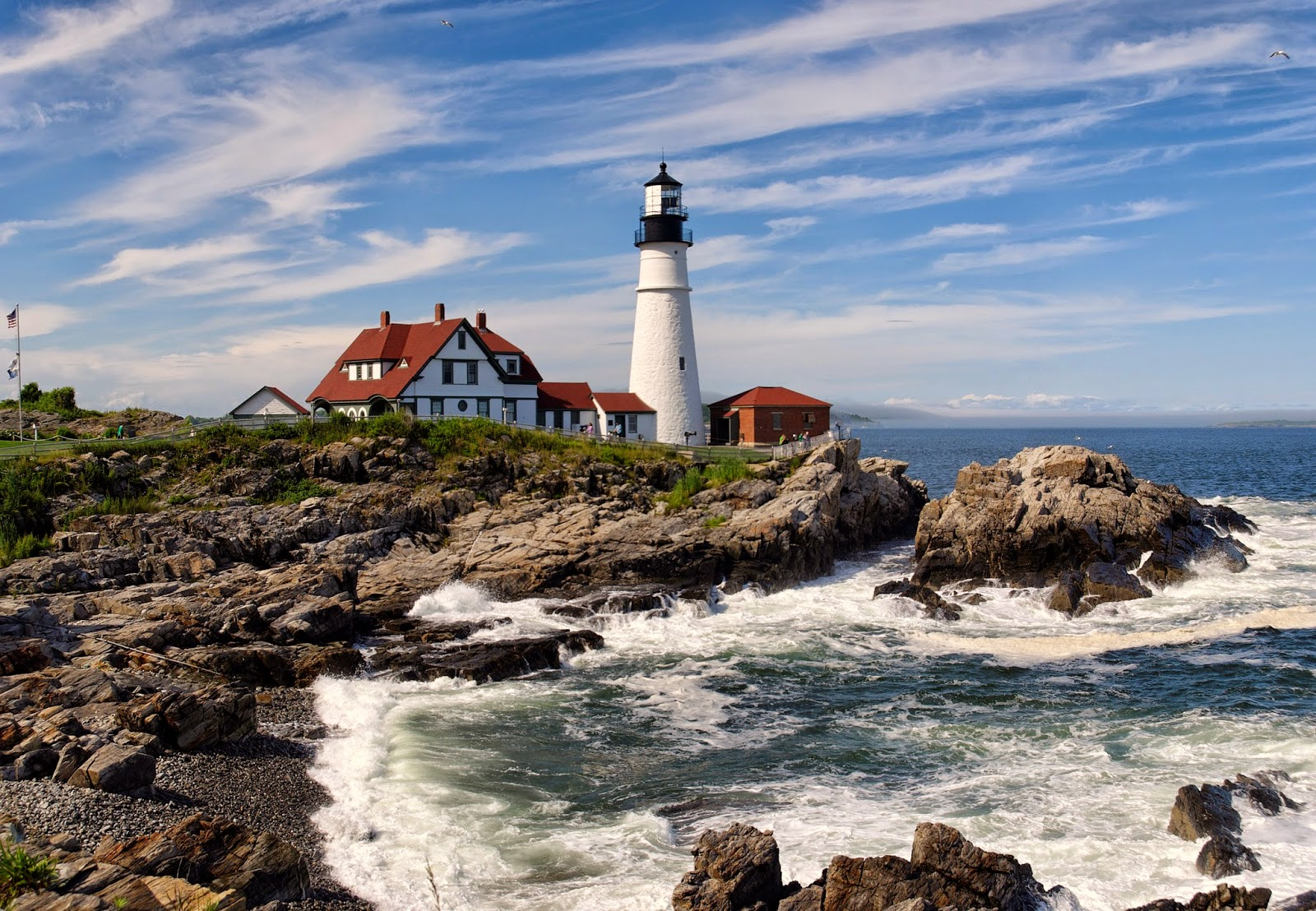 Beautiful Lighthouses around the World Bass Harbor Head Station, Maine