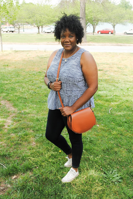 A spring outfit post featuring items from Old Navy, Converse, and Rag & Bone.