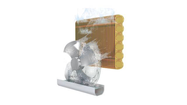 điều hòa di động casper phân tán hơi nước