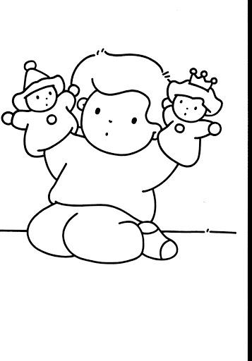 Dibujos Para Colorear De La Semana De Educacion Inicial - Get Yasabe