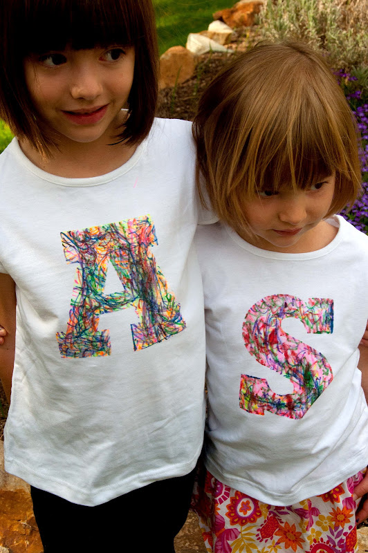 shirt crafts ideas aesthetic nest craft scribble initial t shirt tutorial 2923