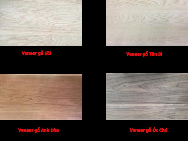 veneer gỗ ghép