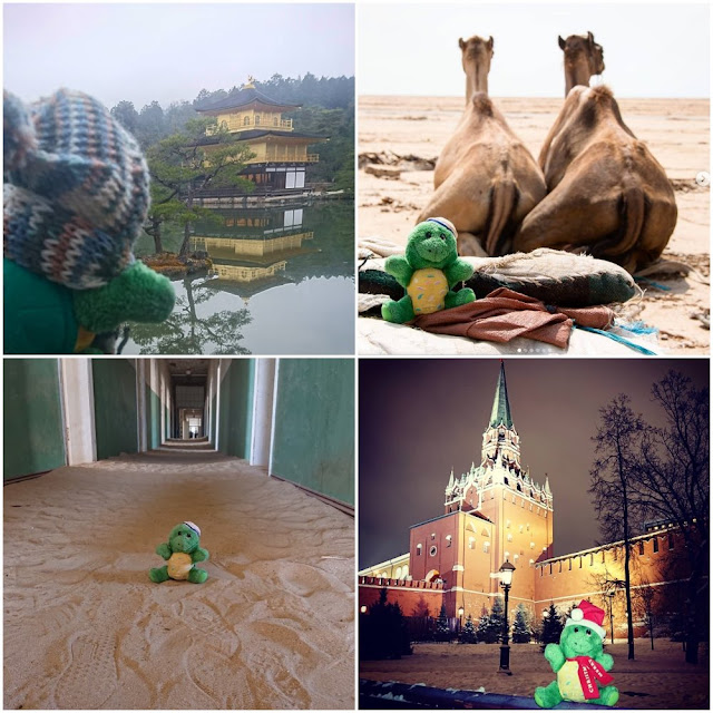 Best travel plushie Instagram account