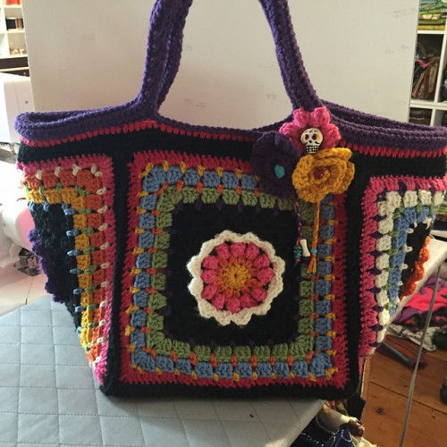Frida's Flowers Project Bag - Free Pattern
