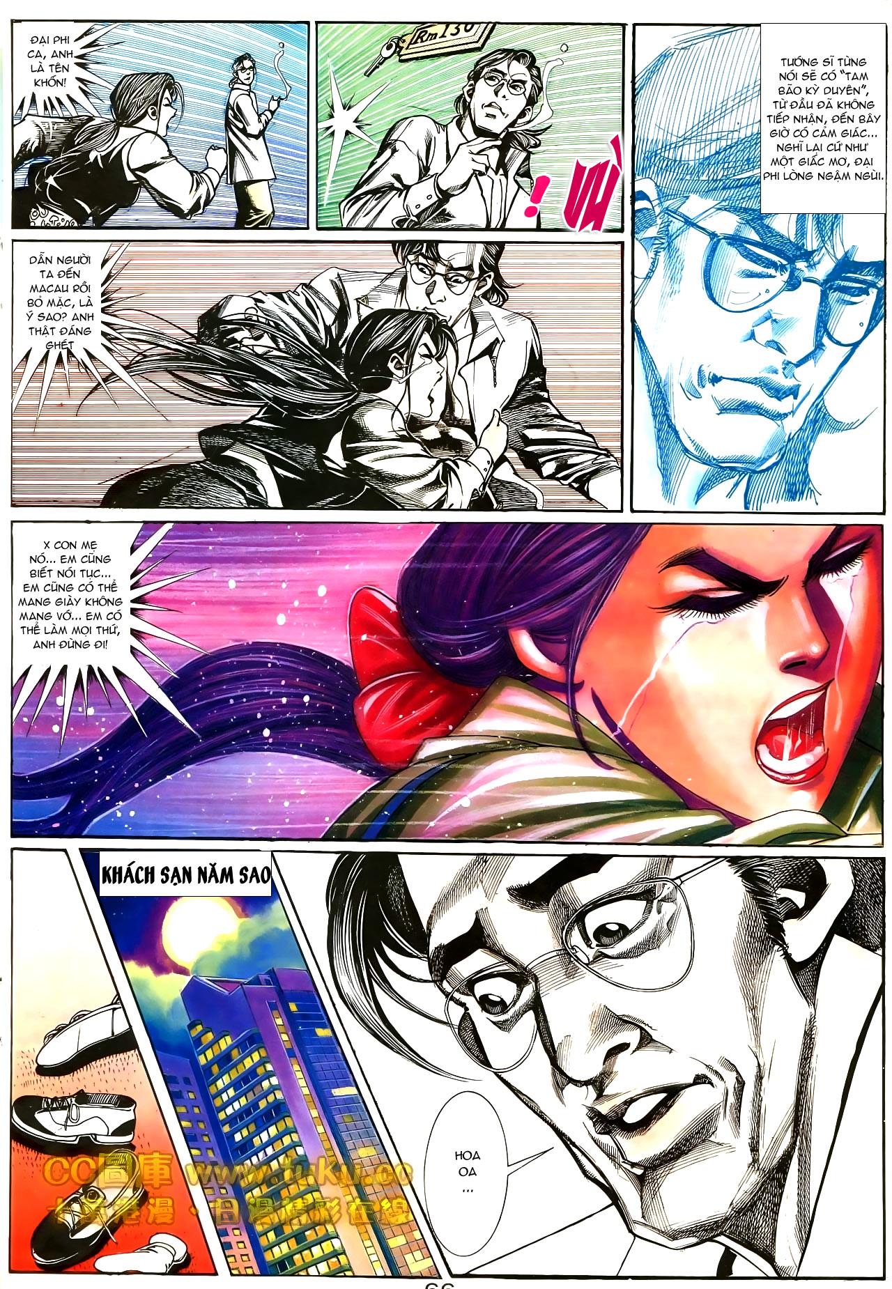 Người Trong Giang Hồ chapter 187: huynh đệ tình trang 3