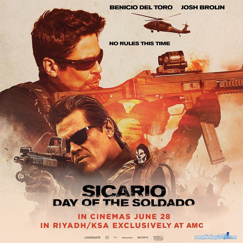 http://xemphimhay247.com - Xem phim hay 247 - Chiến Binh Mexico (2018) - Sicario: Day Of The Soldado (2018)