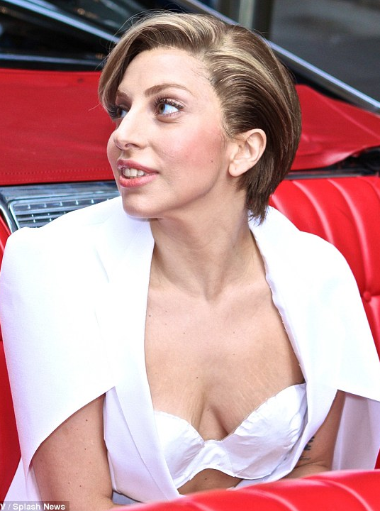 Lady gaga saggy boobs