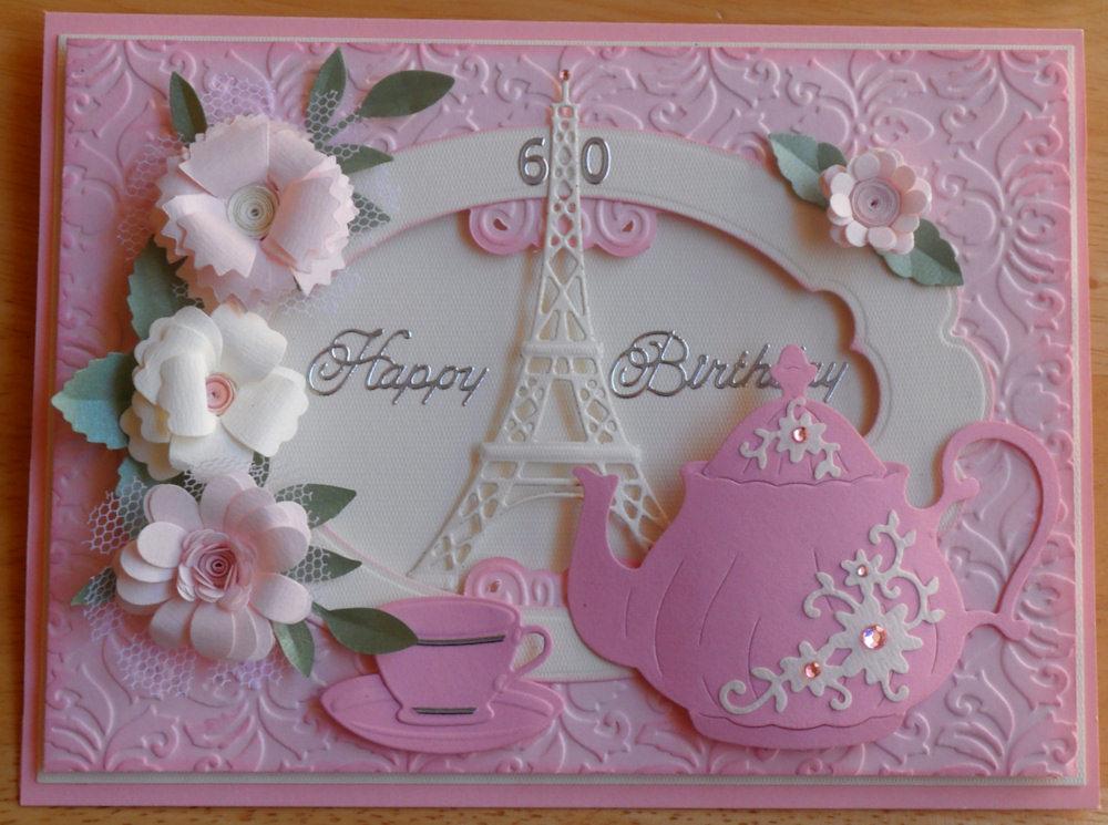 Baukjes Cards And Crafts Happy Birthday Angie