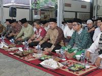 Kapolres Tanggamus Buka Bersama Masyarakat di Rumah Wakil Bupati Pringsewu