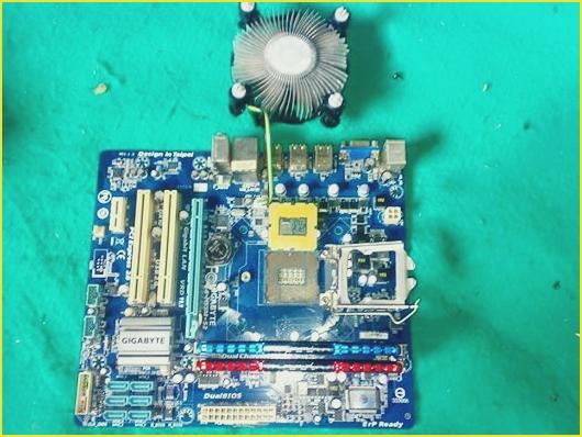 Merakit Komputer dengan Motherboard GIGABYTE GA-H55M-S2