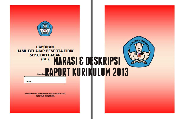 Contoh Narasi Dan Deskripsi Raport Kurikulum 2013