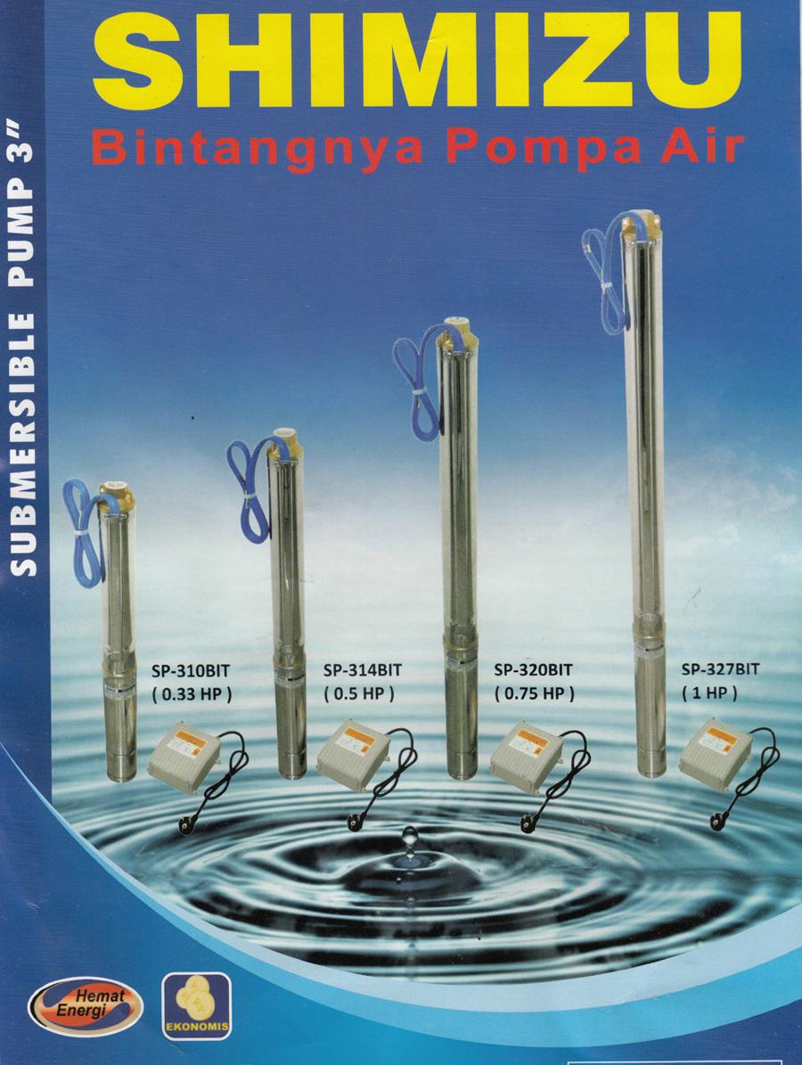 Pompa Air Merk Shimizu ~ Pompa Air Submersible