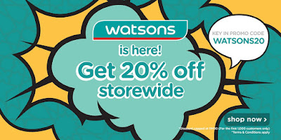 Shopee Promo Code Watsons Storewide Discount