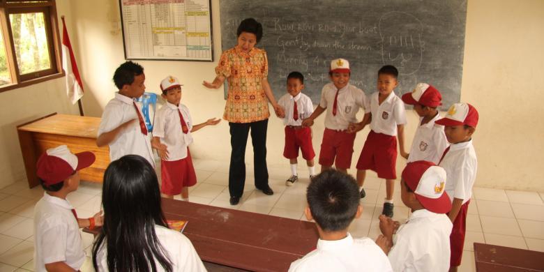 Hubungan Lembaga Pendidikan Sekolah Dengan Masyarakat Pendidikan Dan Pengajaran