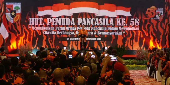 Presiden Jokowi Ingatkan, Ada Pihak yang Ingin Gantikan Ideologi Pancasila Lewat MedSos