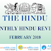 Current Affairs February 2018 PDF | GK Power Capsule (The Hindu Review)