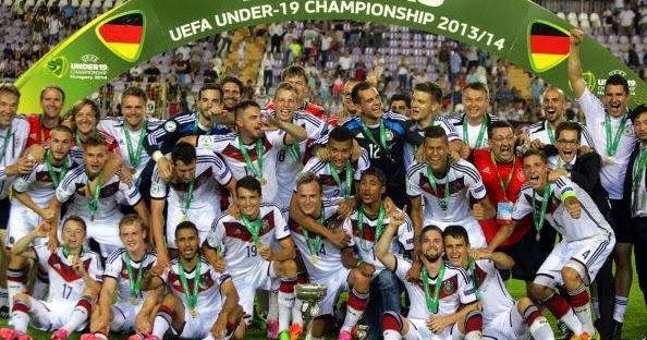 112d35ce0e Alemanha derrota Portugal e conquista o bicampeonato na Euro sub-19 -  Alemanha Futebol Clube