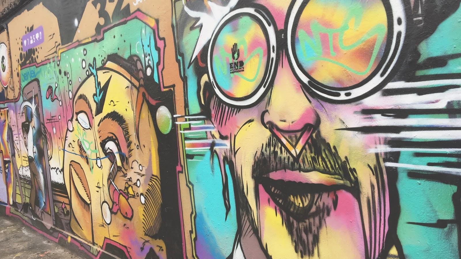 Brick Lane Graffiti Art 2017