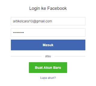 Cara Bobol Akun Facebook Orang Lain Menggunakan Inspect Element