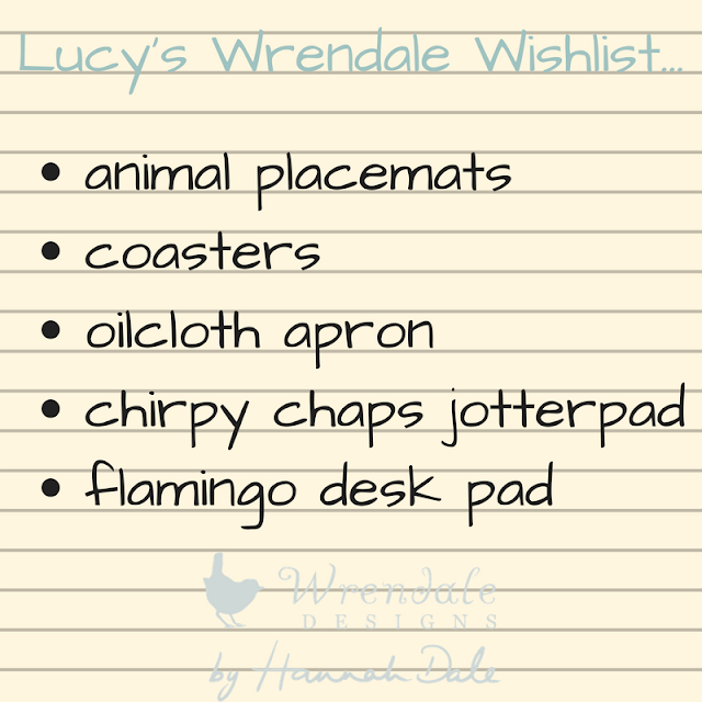 Lucy's Wrendale Wishlist