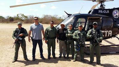 Helicóptero do CTA utilizado nas buscas