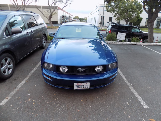 2006 Mustang GT after auto body repairs at Almost Everything Auto Body.