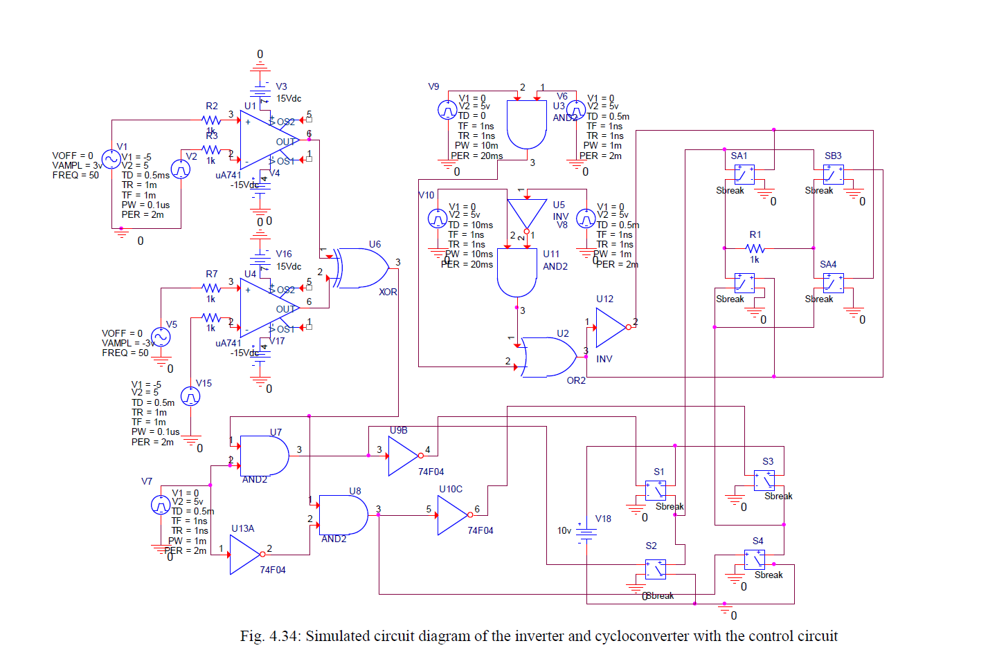 Power Electronics Electrnica De Potencia Leistungselektronik Riello Ups Circuit Diagram High Frequency Link System A Thesis Submitted For The Degree Of Master Philosophy By Emad Abdulrazzaq Rasool School Engineering And Design