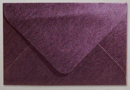 Amaranth Textured Envelope