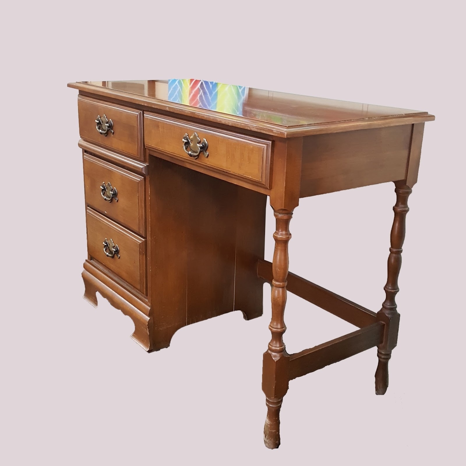 Uhuru Furniture Collectibles Maple Desk 65 Sold