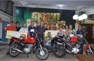 ACIAR entrega mais de R$ 30 mil em prêmios aos sorteados na campanha Show de Prêmios