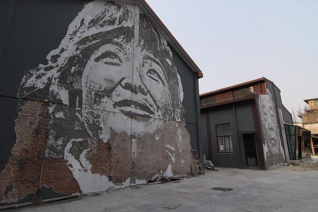 Vhils Graffiti Art As Architectural Archaeology Kuriositas