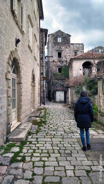 Старинная улица, Пераст, Черногория