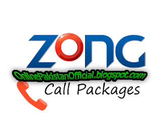 Zong Daily, Weekly, Monthly Call Packages