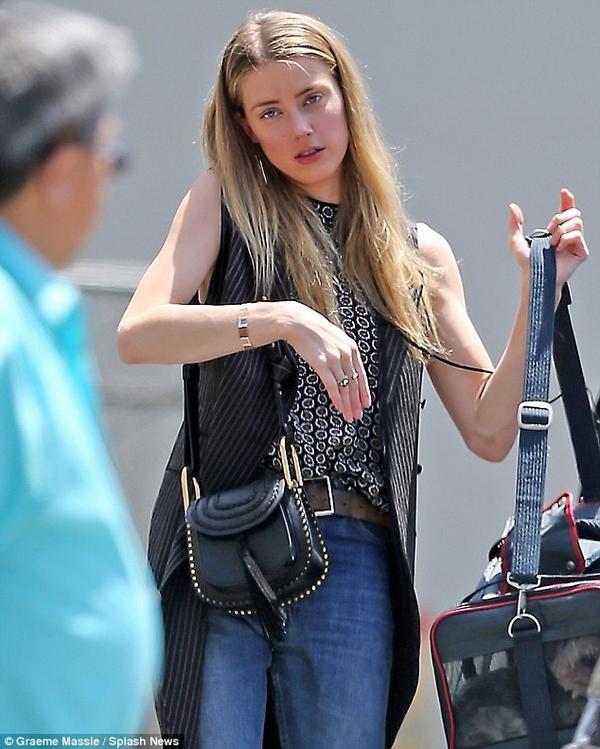 Amber Heard style chloe hudson bag