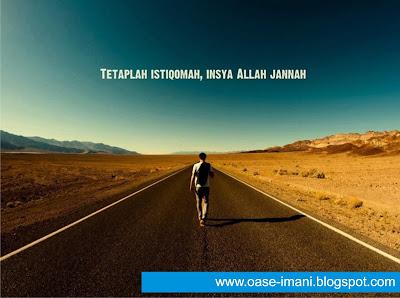 Jalan Istiqomah