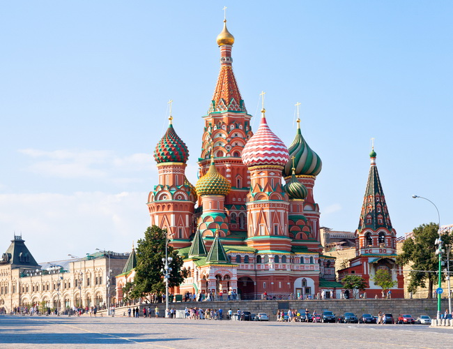 Xvlor Saint Basil's Cathedral is church built by Ivan the Terrible in 1555-1561