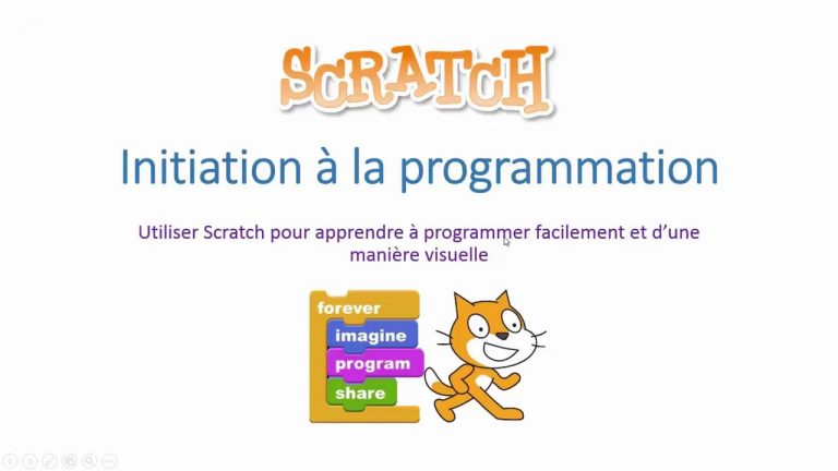 Scratch : Initiation à la programmation informatique