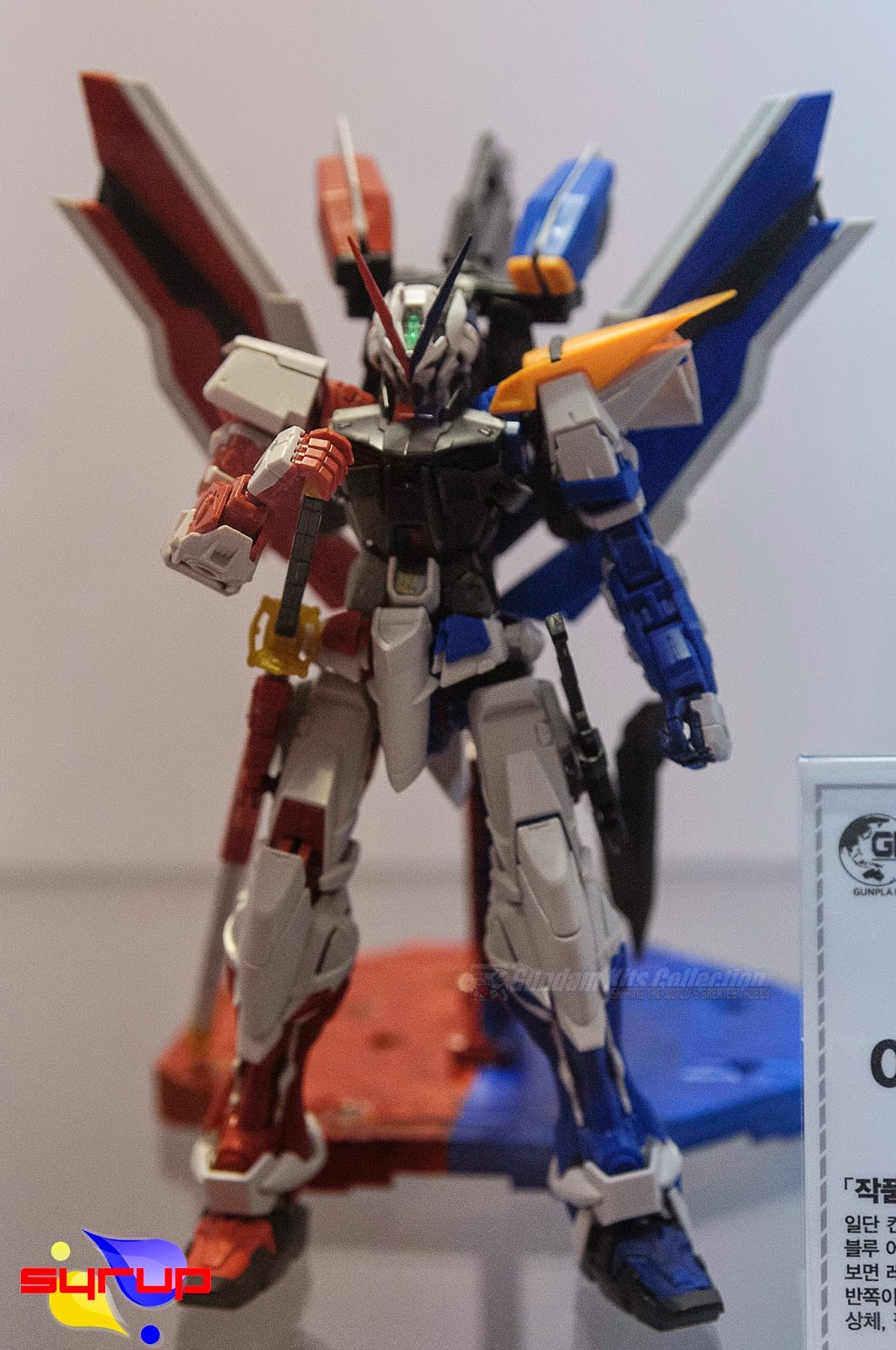 Blue and Red Frame Custom Build