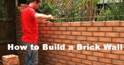 Brick Laminate Picture Brick Garden Wall Construction