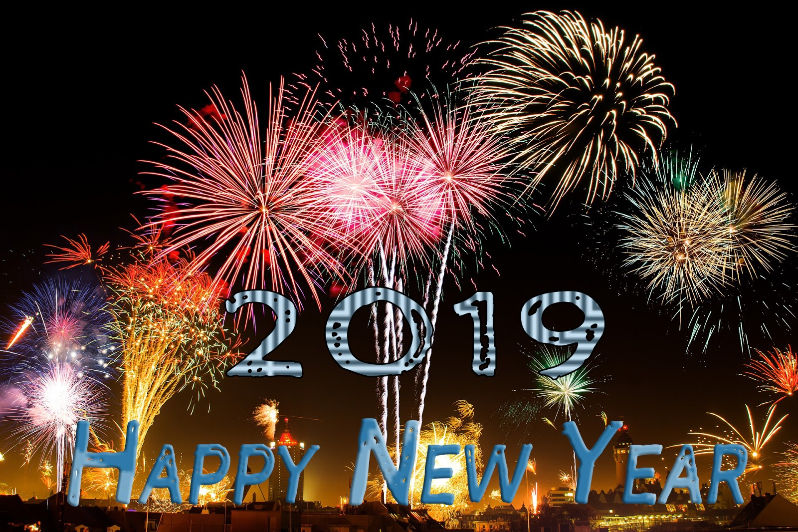 Best Happy New Year 2019 Images Wishing Template