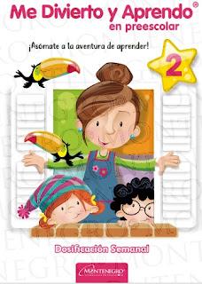 Planeación Semanal Preescolar 2
