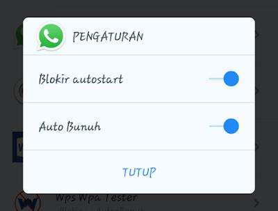 Cara AMPUH menonaktifkan whatsapp (WA) sementara tanpa mematikan data internet