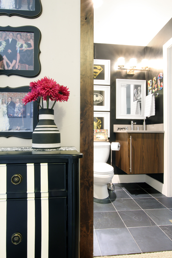How to create a kids' bathroom that blends with the style of your home