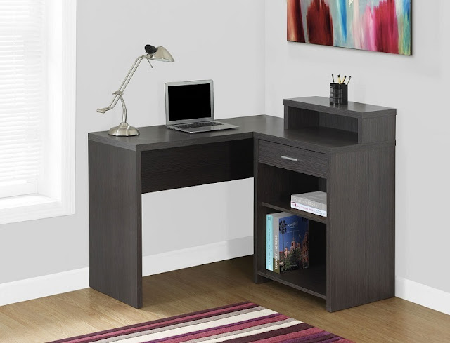 best buy modern small dark wood office furniture for home sale