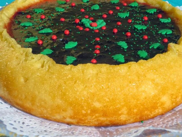 Tarta de queso y pan de molde Ana Sevilla