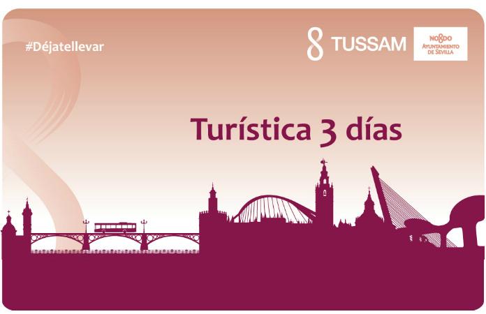 Tarjeta transporte turística visita Sevilla en 3 días